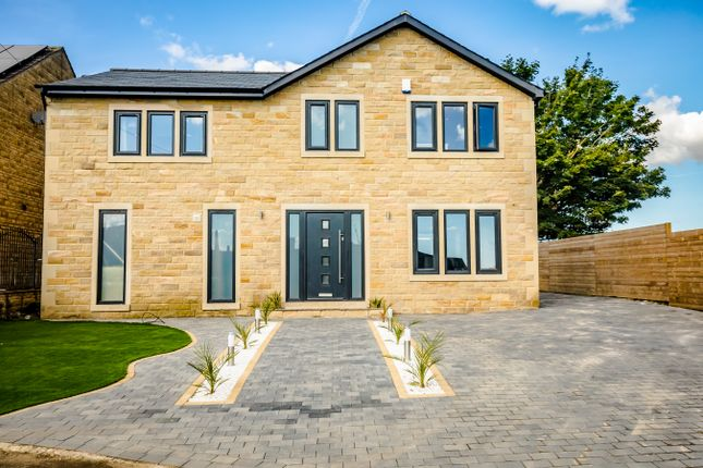 Thumbnail Detached house for sale in South View, Southowram, Halifax