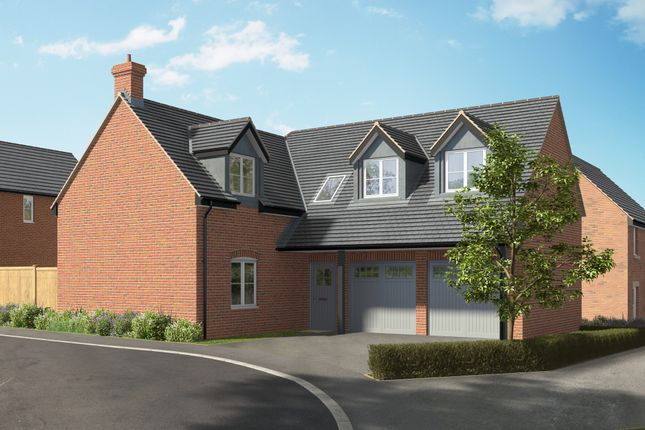 """Thumbnail Detached house for sale in """"The Helmsdale"""" at Hill Top Close, Market Harborough"""