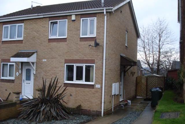 Thumbnail Semi-detached house to rent in Stonehill Rise, Cudworth, Barnsley
