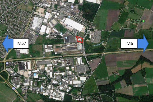 Thumbnail Warehouse for sale in Hornhouse Lane, Knowsley
