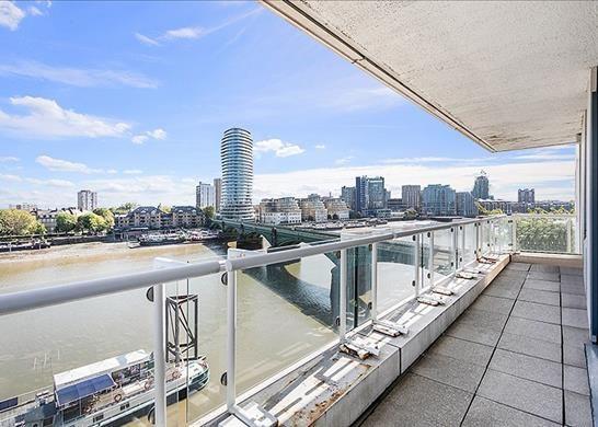 Balcony of Chelsea Crescent, London SW10