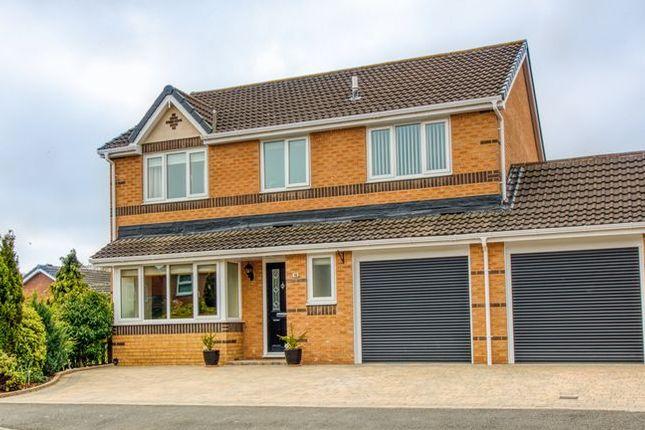 Thumbnail Detached house for sale in Delamere Crescent, Cramlington