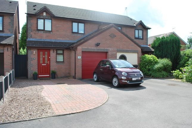 Thumbnail Semi-detached house for sale in Beck Road, Madeley, Crewe