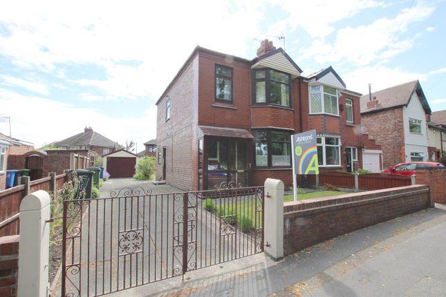 3 bed semi-detached house for sale in Hallfields Road, Warrington WA2