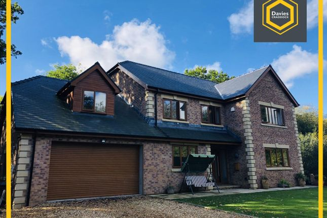 Thumbnail Detached house for sale in Mwrwg Road, Llangennech, Llanelli