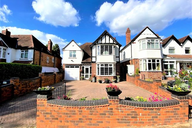Thumbnail Detached house for sale in Green Road, Hall Green, Birmingham