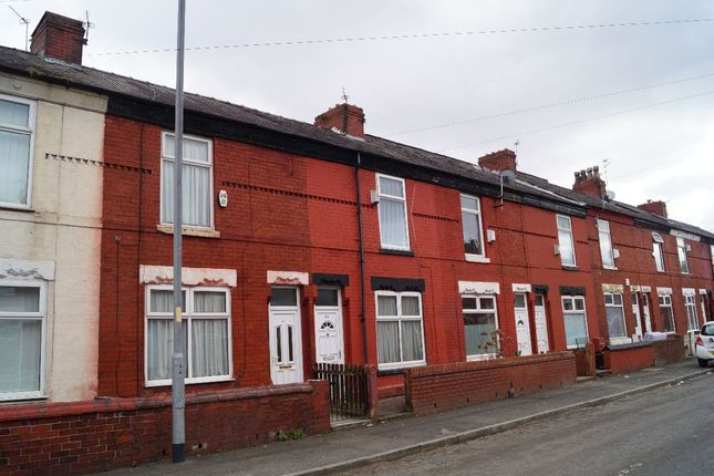 Thumbnail Terraced house to rent in Audley Road, Manchester