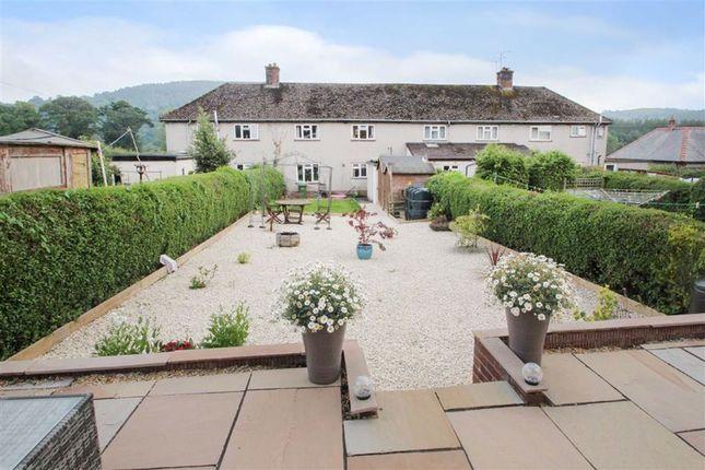 Thumbnail Terraced house for sale in Maes Cedwyn, Llangedwyn, Oswestry