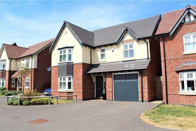 Thumbnail Detached house for sale in Baskerville Road, Heritage View, Nuneaton, Warwickshire
