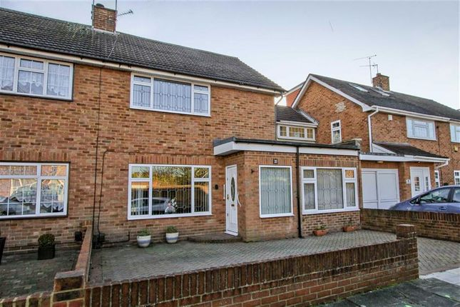 Thumbnail Semi-detached house for sale in Keats Way, West Drayton, Middlesex