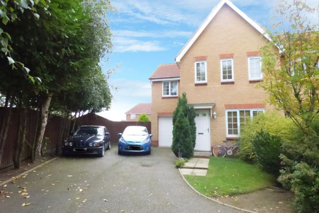 Thumbnail Detached house for sale in Kingfisher Road, Attleborough