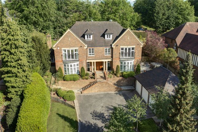Thumbnail Detached house for sale in Burgess Wood Road, Beaconsfield, Buckinghamshire