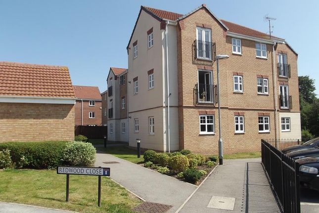 Thumbnail Flat to rent in Redwood Close, Nottingham