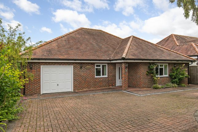 Thumbnail Detached bungalow for sale in Vernham Road, Weeke, Winchester