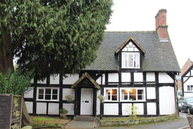 Thumbnail Cottage to rent in Shrewsbury Street, Hodnet, Shropshire