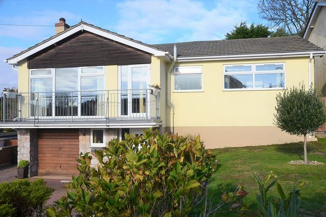 Thumbnail Bungalow for sale in Wall Park Close, Brixham