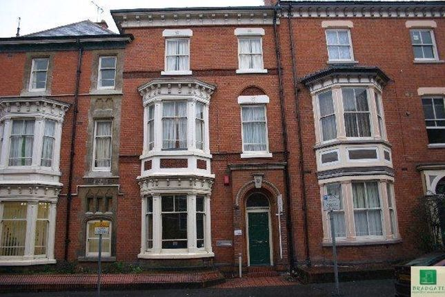 Thumbnail Flat to rent in Lorne House, Regent Road, Leicester