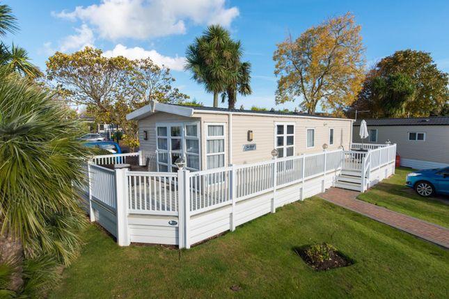 Thumbnail Mobile/park home for sale in Monkton Street, Monkton, Ramsgate