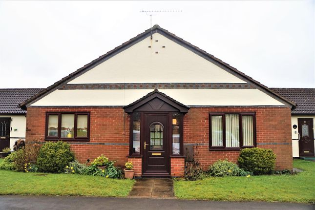Thumbnail Terraced bungalow for sale in Chestnut Walk, Markfield