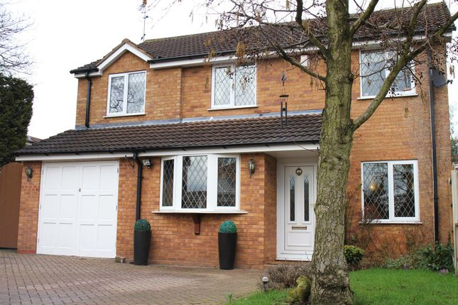 Thumbnail Detached house for sale in Hanwell Close, Sutton Coldfield
