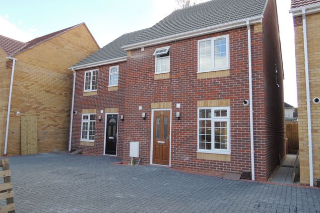Thumbnail Semi-detached house to rent in Dudley Gardens, Poole