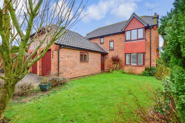 4 bed detached house for sale in Scholey Close, Halling, Rochester, Kent