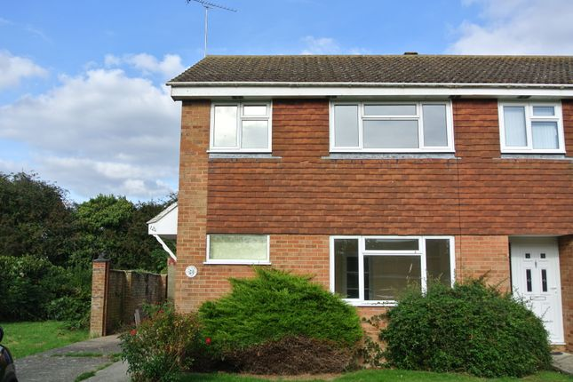 Thumbnail Semi-detached house to rent in Bensted, Kingsnorth, Ashford