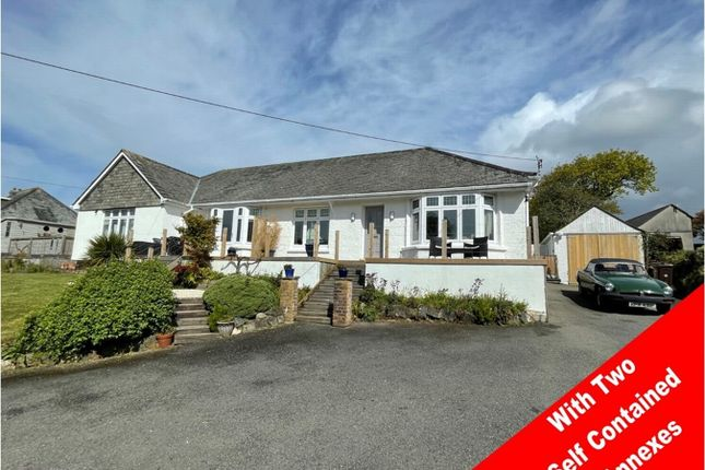 Thumbnail Detached bungalow for sale in Trelowth, St Austell, Cornwall