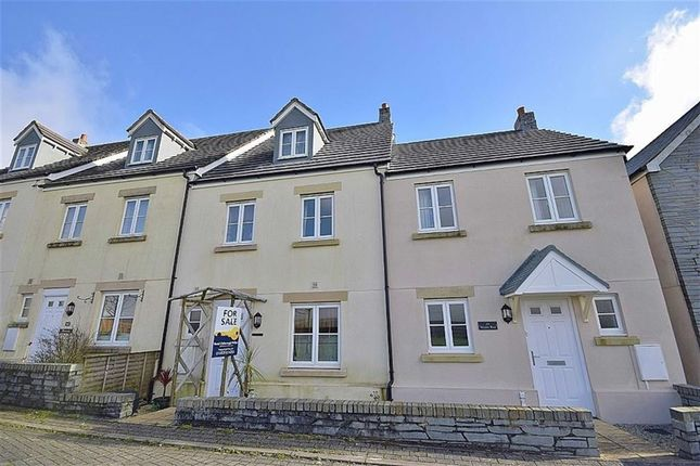 Thumbnail Terraced house for sale in Weeks Rise, Camelford, Cornwall