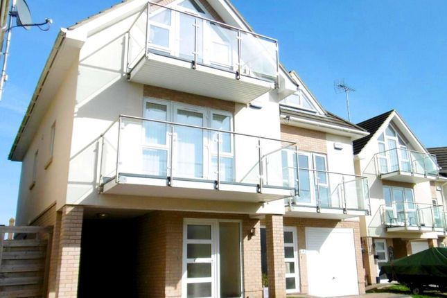 Thumbnail Town house to rent in The Yachtsman, Lake Avenue, Poole