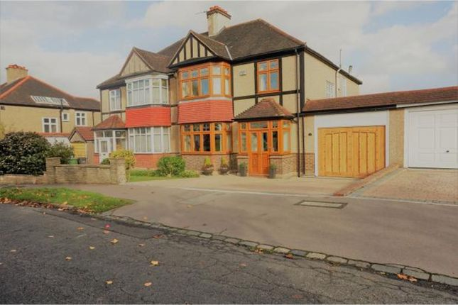 Thumbnail Semi-detached house to rent in Barnfield Avenue, Shirley
