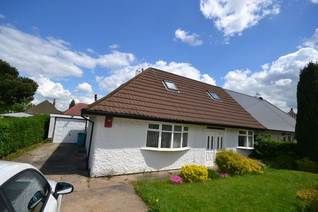 Thumbnail 4 bed semi-detached bungalow to rent in Hawton Crescent, Wollaton, Nottingham