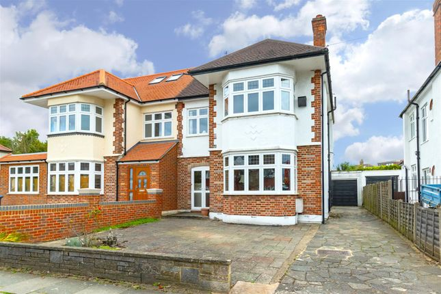 Thumbnail Semi-detached house for sale in Westpole Avenue, Cockfosters