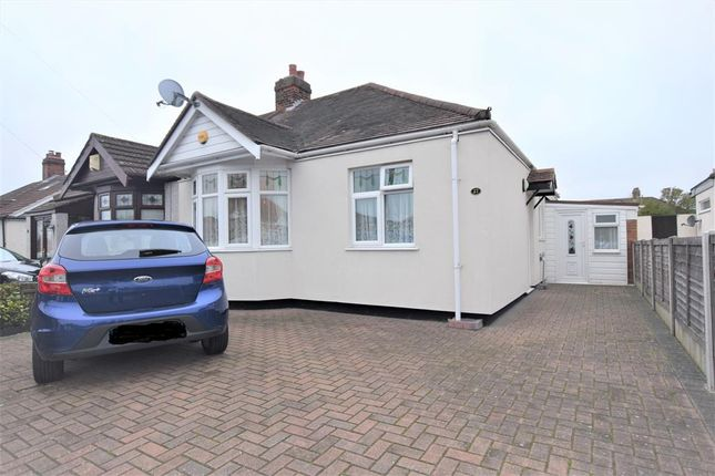 Thumbnail Semi-detached bungalow for sale in Lime Grove, Hainault, Essex