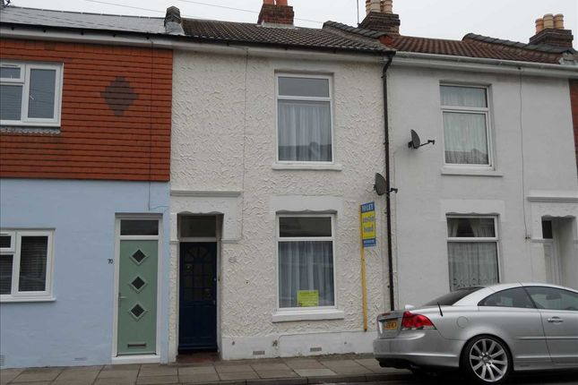 Thumbnail Terraced house to rent in Landguard Road, Southsea