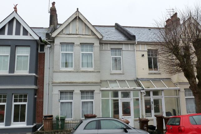 Thumbnail Terraced house for sale in College Avenue, Mannamead, Plymouth, Devon