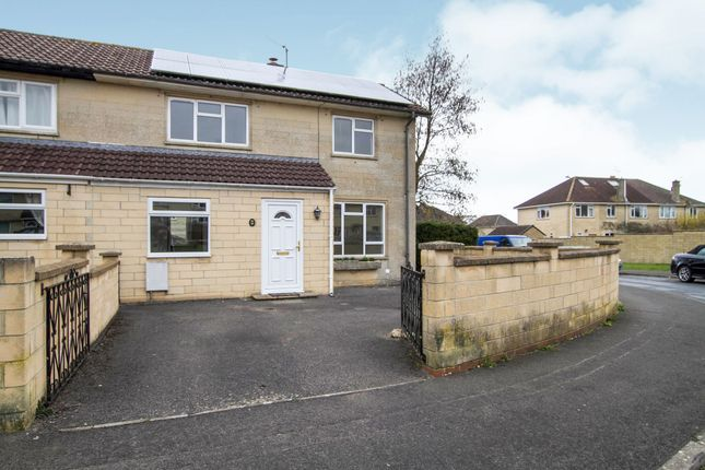 Thumbnail End terrace house to rent in Down Avenue, Combe Down, Bath