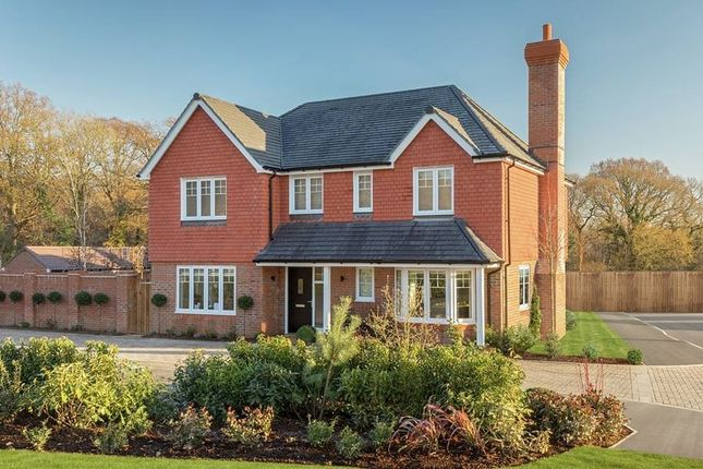 "Thumbnail Detached house for sale in ""The Osmore - Single Garage"" at North Common Road, Wivelsfield Green, Haywards Heath"