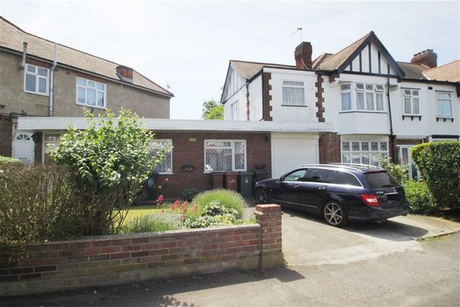 Thumbnail End terrace house for sale in Lambourne Gardens, London