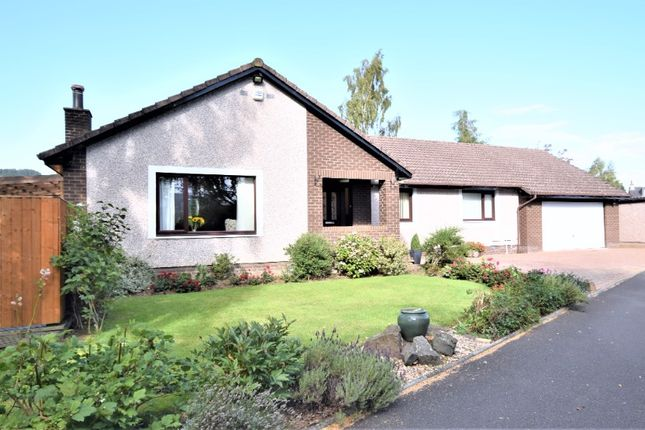 Thumbnail Detached bungalow for sale in Station Park, Bridge Of Earn, Perthshire