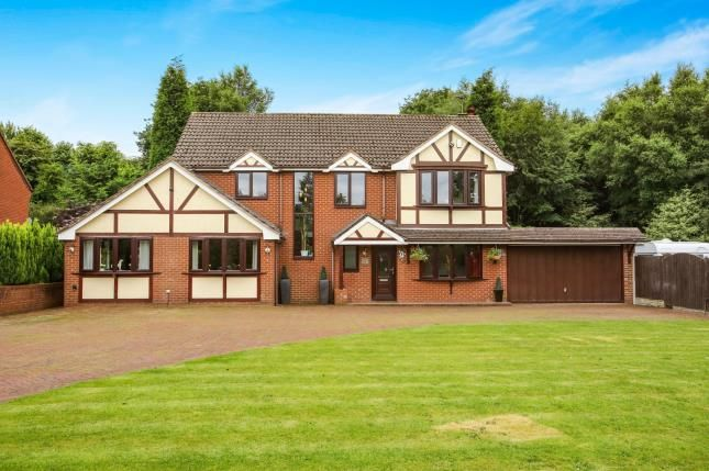 Thumbnail Detached house for sale in Mount Pleasant, Kidsgrove, Stoke-On-Trent, Staffordshire