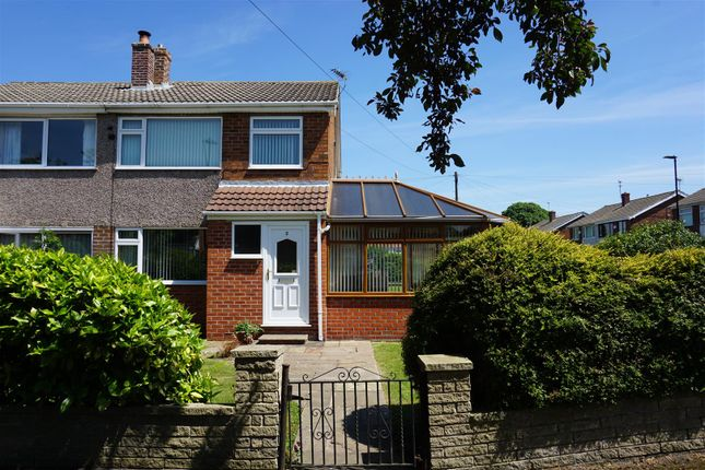 Thumbnail Semi-detached house for sale in Dalecroft Road, Carcroft, Doncaster
