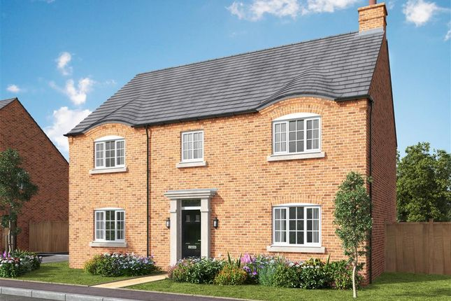 Thumbnail Detached house for sale in St George's Fields, Wootton, Northampton