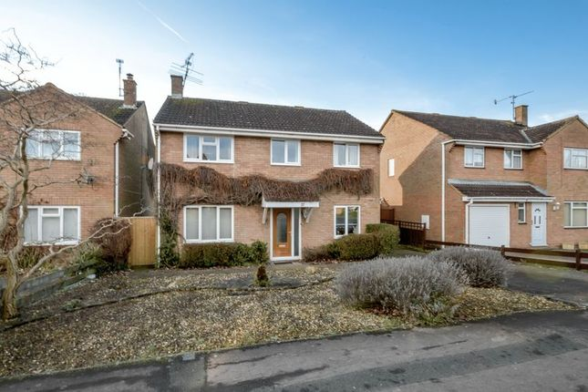 Thumbnail Detached house for sale in Liskeard Way, Freshbrook, Swindon