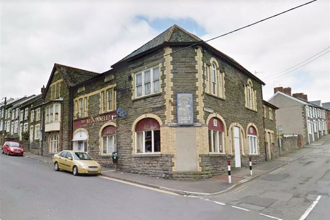 Thumbnail Pub/bar for sale in The Mcdonnell Hotel, Mcdonnell Road, Bargoed
