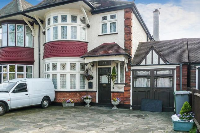 Thumbnail Semi-detached house to rent in Churchill Avenue, Kenton, Harrow