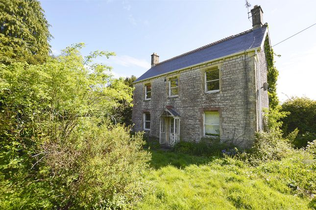 Thumbnail Detached house for sale in Downside View Fosse Road, Stratton-On-The-Fosse, Radstock, Somerset