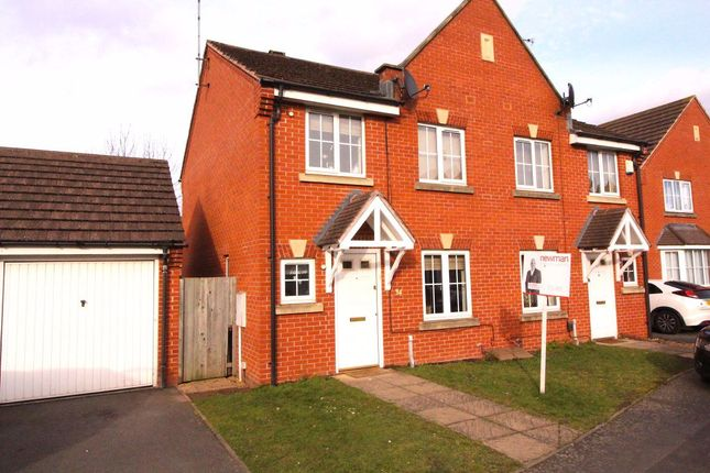 Thumbnail Semi-detached house to rent in Aqua Place, Rugby