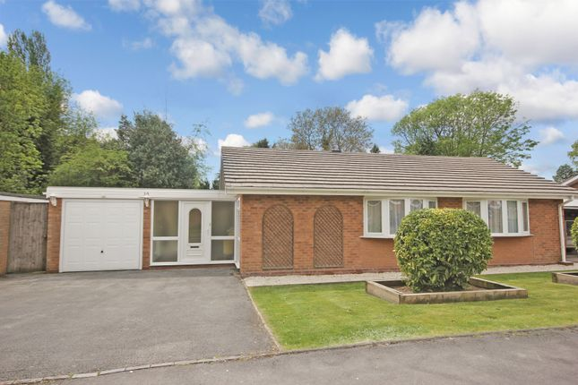 Thumbnail Detached bungalow for sale in Milcote Road, Solihull