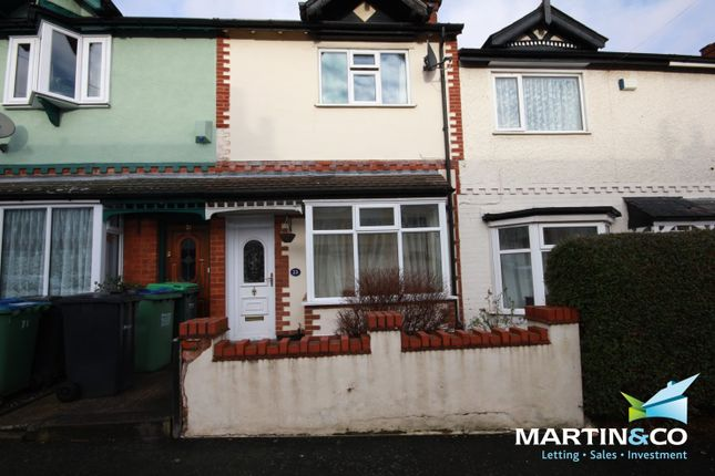 Thumbnail Terraced house for sale in Dunsford Road, Bearwood